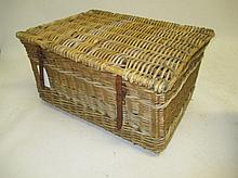 Medium wicker basket ideal for logs etc