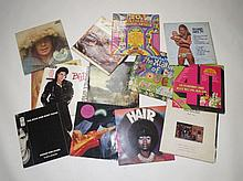 Collection of vinyl LPs