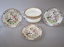Grainger Worcester porcelain chamber pot together