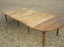 Large French provincial chestnut extending D end