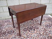 C19th mahogany Pembroke table