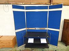 Modern commercial folding display unit