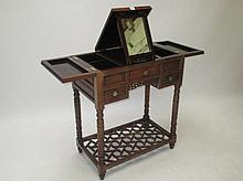 Good quality Chinese rosewood dressing table with