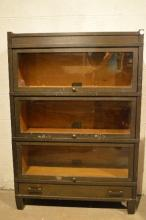 4 STACK BARRISTER BOOKCASE