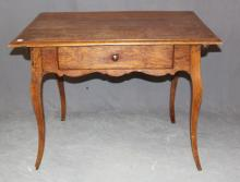 19th century French writing desk with drawer