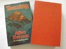 Norgay Tenzing After Everest Signed book