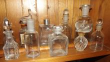 Antique Medicine & Perfume bottles Lalique