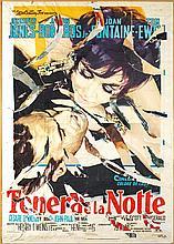 Mimmo ROTELLA (1918-2006)   TENERA E LA NOTTE