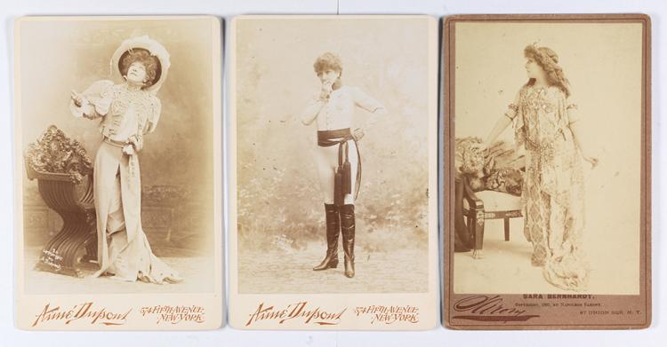 Aime DUPONT (1842-1900) et Napoleon SARONY (1821-1896)