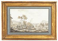Jacques-François-Joseph SWEBACH dit SWEBACH DESFONTAINES (Metz, 1769 - Paris, 1823) NAPOLÉON BONAPARTE PENDANT LA CAMPAGNE D'ITALIE, 1802