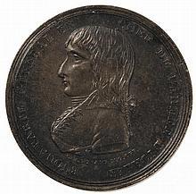 LOT DE TROIS MÉDAILLES : BONAPARTE VAINQUEUR DES GUERRES D'ITALIE (1797)
