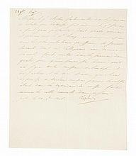NAPOLÉON Ier Lettre signée « Napoleon », adressée au général Clarke, duc de Feltre. Posen, 28 novembre 1806
