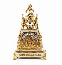 RARE PENDULE « PYRAMIDE » Paris, fin du XVIIIe