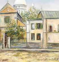 Succession Jean Fabris : oeuvres par Maurice Utrillo, Lucie Valore & Jordi Sarra