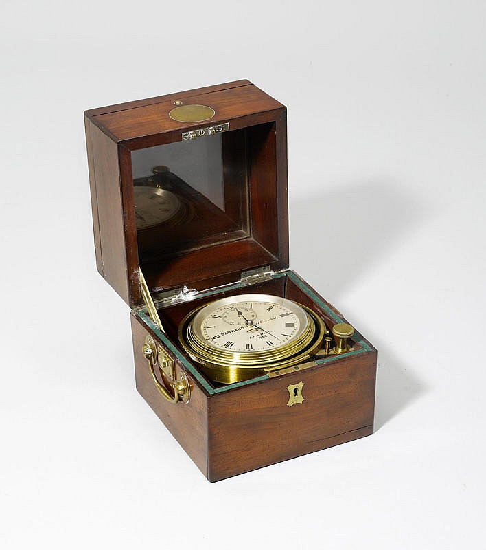 A MARINE CHRONOMETER, England, 20th c. The dial