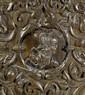 A GERMAN CARVED OAK CABINET, Renaissance style,