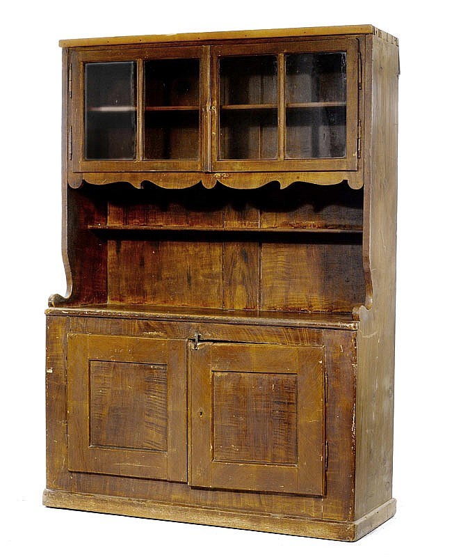 BUFFET WITH ALCOVE, Biedermeier, in the manner of