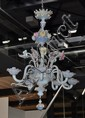 A LATE BAROQUE CHANDELIER, Murano, 19th c.