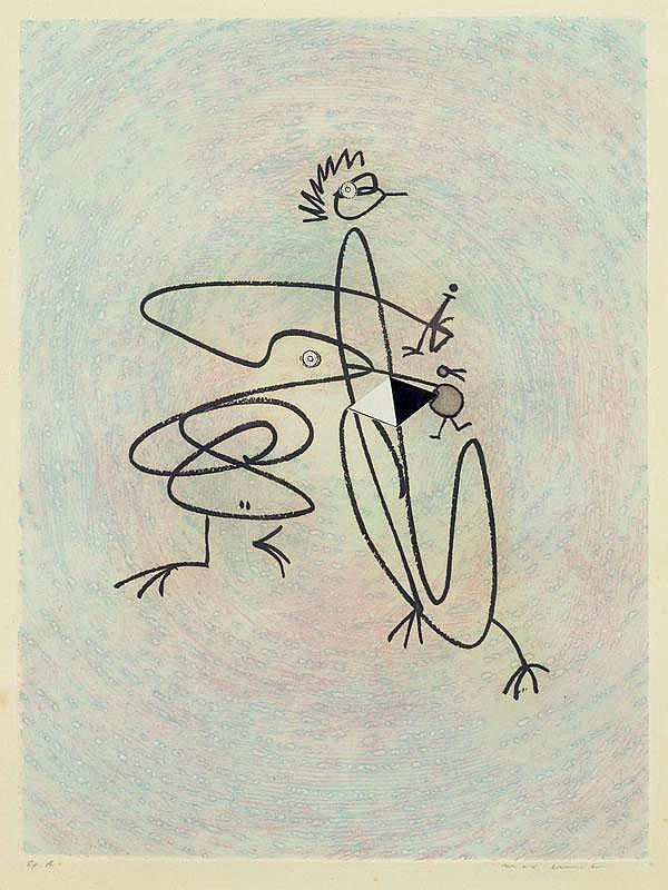ERNST, MAX (Brühl 1891 - 1976 Paris) Untitled.