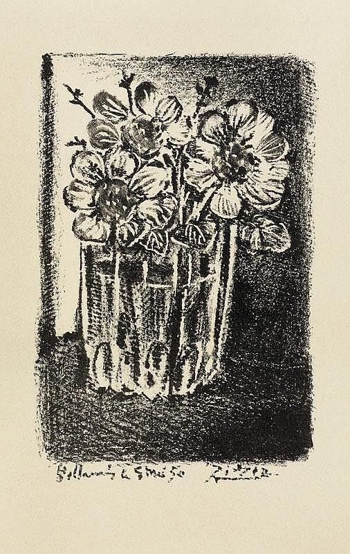 PICASSO, PABLO (Málaga 1881 - 1973 Mougins) Fleurs