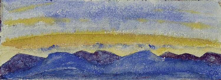 AMIET, CUNO (Solothurn 1868 - 1961 Oschwand)