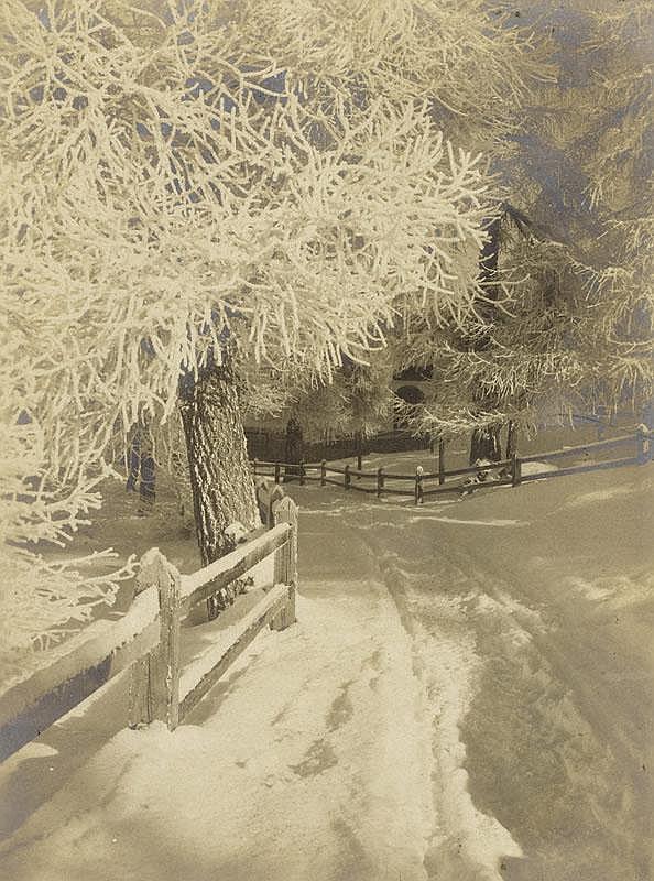 STEINER, ALBERT (1877 Frutigen 1965) Winterzauber