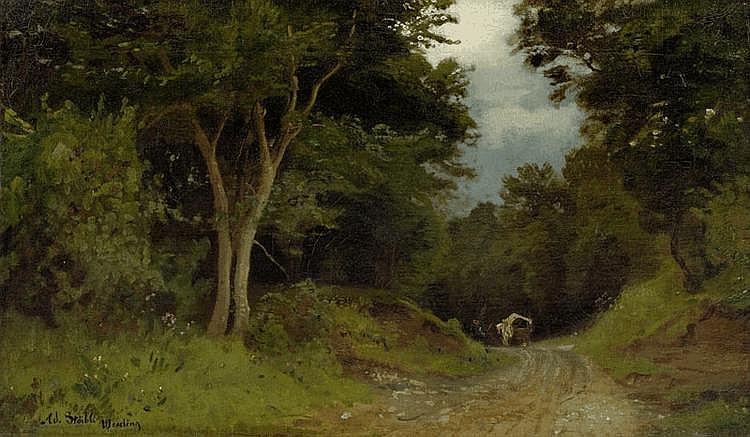 STÄBLI, ADOLF (Winterthur 1842 - 1901 Munich )