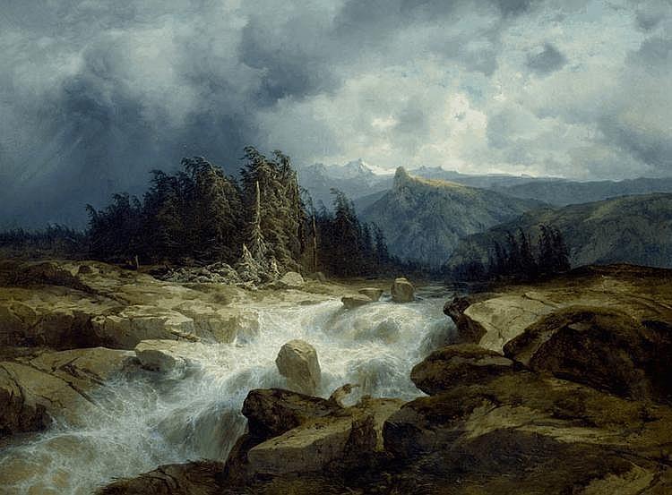 CALAME, ALEXANDRE (Vevey 1810 - 1864 Menton)