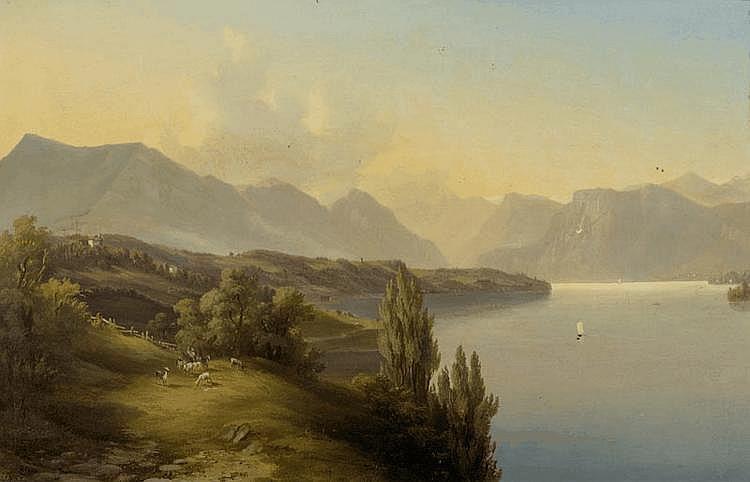 ZELGER, JAKOB JOSEF (Stans 1812 - 1885 Lucerne)