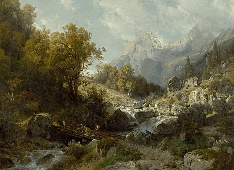 STEFFAN, JOHANN GOTTFRIED (Wädenswil 1815 - 1905