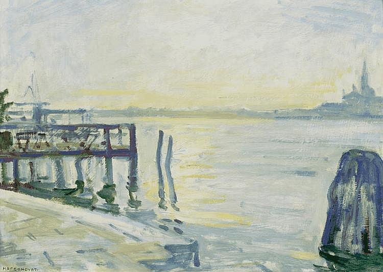 NOVATI, MARCO (1895 Venice 1975) Dalle Zattere -