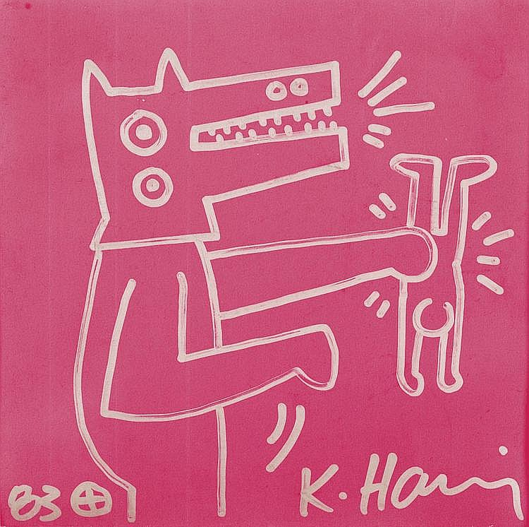 HARING, KEITH (Reading 1958 - New York 1990)