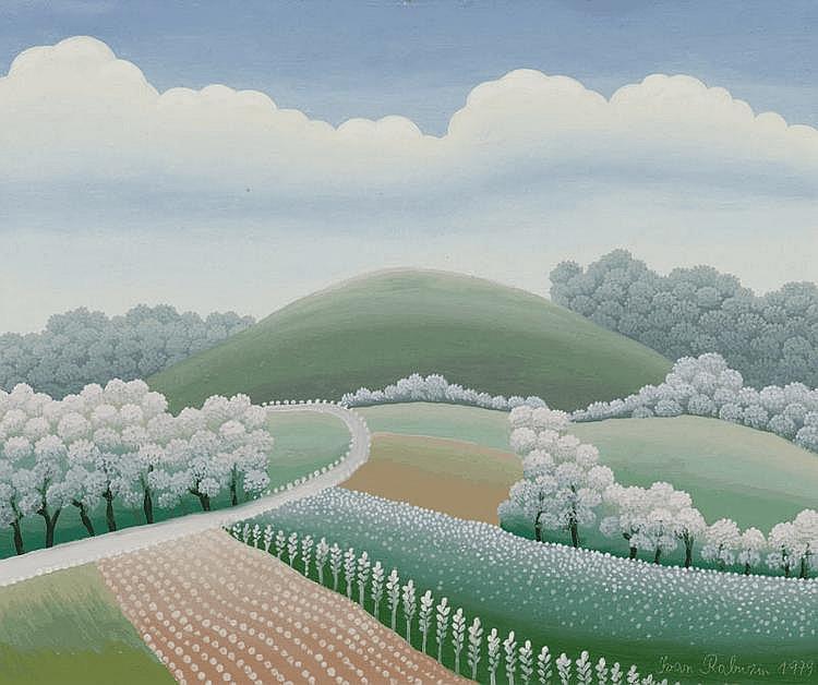 RABUZIN, IVAN (1921 Varazdin 2008) Landscape.