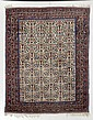 AFSHAR antique.Beige central field, patterned