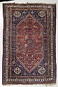GASHGAI antique.Rust coloured central medallion on