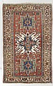 KARABAGH antique.Red central field with three