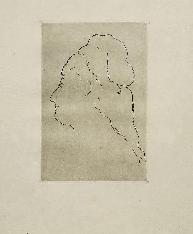 MANET, EDOUARD (1832 Paris 1883).Eva Gonzales,