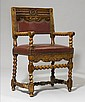 FAUTEUIL, Louis XIV, France, early 18th century.