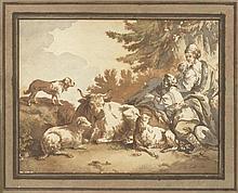 HUET, JEAN BAPTISTE I.(1745 Paris 1