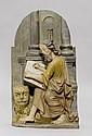 EVANGELIST MARCUS,Austria, 17th century. H 48 cm.