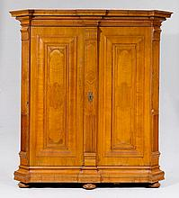 A 'KISSENSCHRANK' HALL CUPBOARD,Baroque, Lucerne,
