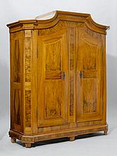 A SMALL ARMOIRE,Louis XVI, Austria. Walnut and