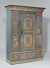 A PAINTED ARMOIRE,Toggenburg, inscribed JGF.