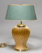 TABLE LAMP,probably Maison Baguès, Paris, 20th