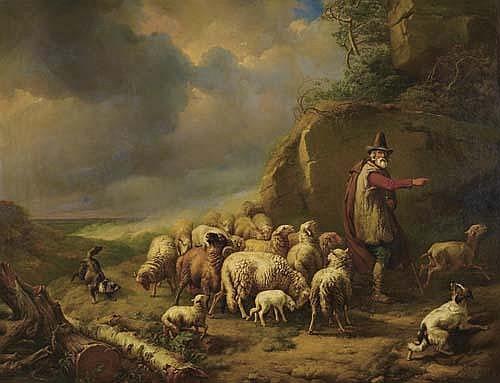 *VERBOECKHOVEN, EUGEN JOSEPEH