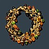 GEMSTONE AND GOLD BRACELET, TAMARA COMOLLI.Yellow