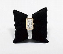 LADY'S WRISTWATCH, JAEGER LE COULTRE, 1970s.Yellow