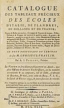 Auktionskataloge - Paillet, A. J. Catalogue des ta