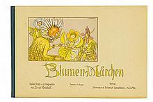 Kreidolf, Ernst. Blumen-Märchen. Mit farblithogr.