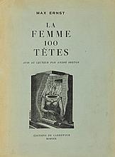 Ernst, Max. La femme 100 Têtes. Avis au Lecteur pa
